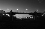 Pont per a vianants sobre el barranc - BN - 4.3 - 1600x1200