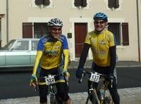 Jordi López i Pepe Soler abans de l'eixida