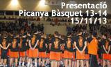 Presentació Picanya Bàsquet 2013_2014 i celebració 25 anys