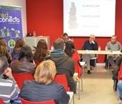 La presentació del projecte BecaMOS i Red Conecta desperta gran interés