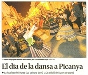 El dia de la dansa a Picanya