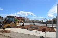 Mejora de la zona de jardines del grupo de viviendas adaptadas para mayores