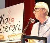 Juan José Millás rep el premi Llig Picanya 2014