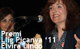 Acte lliurament Premi Llig Picanya. Maig literari 2011. Elvira Lindo