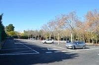 Obres finalitzades asfaltat aparcament poliesportiu