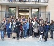 L'alumnat de Sant-Cyr-L'Ecole ens visita en estos dies