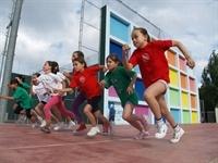 Mini-olimpiades al Poliesportiu
