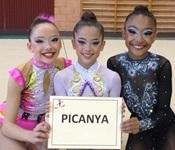 Tres gimnastes del club GR Picanya classificades per al Campionat d'Espanya