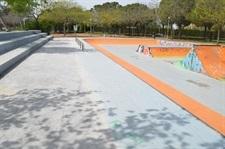 Millores a la pista de patinatge del Parc Europa