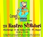 Este diumenge 31 de maig celebrem el 21é Rastro Solidari