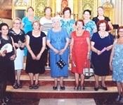 Les Clavariesses de la Mare de Déu de l'Assumpció celebren el seu 25é aniversari
