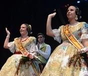 Andrea i M. Pau comencen el seu regnat com a Falleres Majors de Picanya 2016
