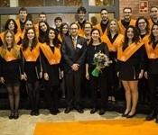 El Cor jove de la Unió Musical actuà a la Facultat d'Economia