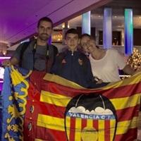 Rubén i la seua família a Miami