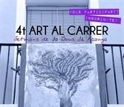 """Nova convocatòria de la mostra """"Art al carrer"""""""
