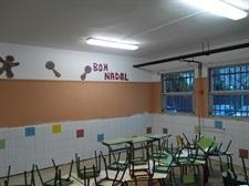 Millores al menjador de l'escola Ausiàs March