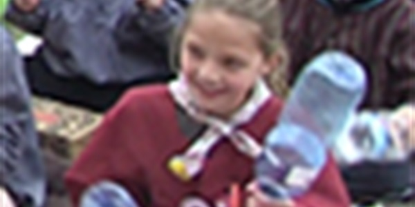Escola Ausiàs March - Mascletà sense pólvora