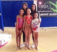 A la autonòmica amb les entrenadores Esther i Ángela