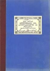 Las actas municipales del Ayuntamiento de Picanya (20-9-1938/5-4-1939)