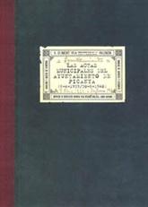 Las actas del Ayuntamiento de Picanya (6-4-1939/30-6-1940)