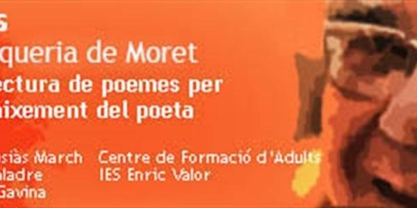 Setena Festa en homenatge al poeta Vicent Andrés Estellés