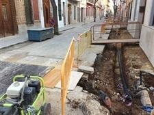 Obres de millora de voreres i xarxa d'aigua potable al carrer Bonavista