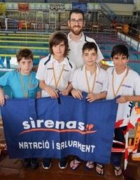 Ian Tello amb el seu equip