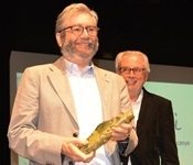 Antonio Muñoz Molina recull el 10é premi Llig Picanya