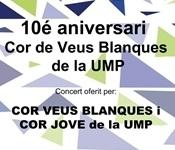 Concert de celebració dels 10 anys del Cor de Veus Blanques