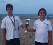Bons resultats dels germans Tello al campionat autonòmic de Salvament i Socorrisme