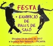 Festa i exhibició de balls de saló este dissabte
