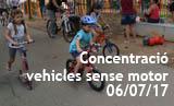 Festes Majors. Concentració de vehicles sense motor