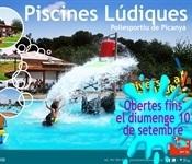 Les Piscines Lúdiques romandran obertes fins el 10 de setembre