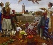 Exposició de pintures d'Emilio Quílez