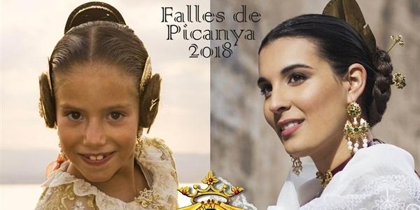 Demà dissabte tindrà lloc la Proclamació de les Falleres Majors de Picanya 2018