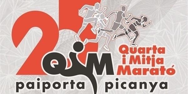 El 17 de desembre tindrà lloc la 25a edició de la Quarta i Mitja Marató