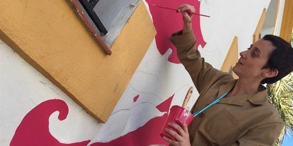 "La il·lustradora picanyera Regina Quesada ""anima"" la Biblioteca"