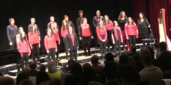 Festival Solidari Cáritas - Cor Jove Unió Musical Picanya