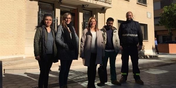 La col·laboració amb el SERVEF permet la contractació de persones aturades per part de l'Ajuntament