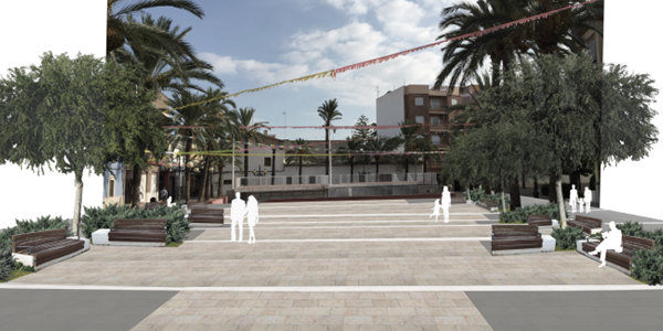 La Plaça del País Valencià, un pas més en la modernització del centre històric