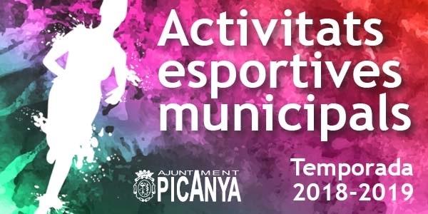 Publicada l'oferta municipal d'activitats esportives