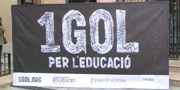 Un gol per l'educació