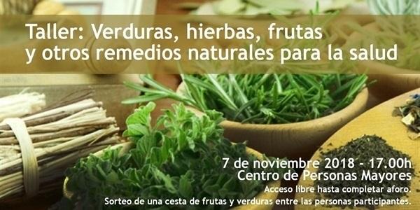 Verdures, herbes i fruites com a remeis naturals per a la salut