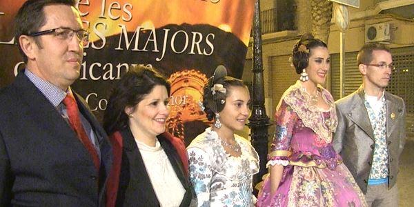 FALLES 2015 - Exaltació de les Falleres Majors de Picanya