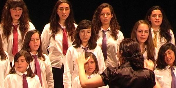 Cors infantils · Unió Musical de Picanya i Escola La Masia.
