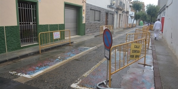 En marxa les obres de renovació dels carrers Torrent, Sant Pasqual i Vicent Serrador