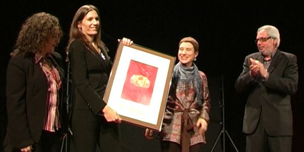 Acte de lliurament del 31é Premi Enric Valor