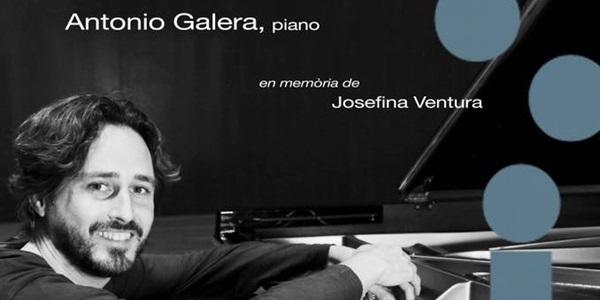 Concert d'Antonio Galera en memòria de Josefina Ventura