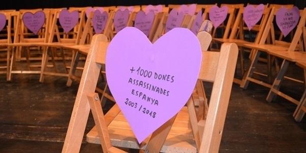 Cors violeta contra la violència cap a les dones