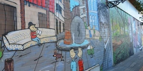 Finalitzat el mural del Mercat Municipal